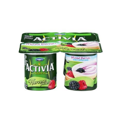 Activia® Mixed Berries Harvest Picks Yogurt