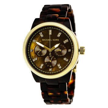 Michael Kors Tortoise Jet Set Women's Watch - MK5038