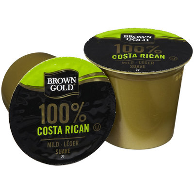Brown Gold Coffee K-Cups - Costa Rican - 48 ct