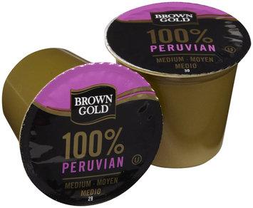Brown Gold Coffe K-Cups, Peruvian, 48 ct