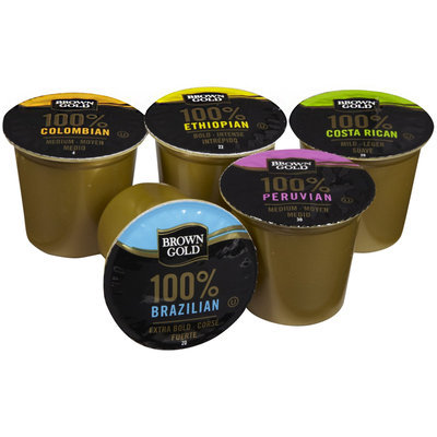 Brown Gold Coffee RealCups Variety Pack - 36 ct.