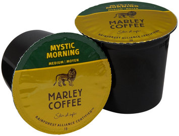 Marley Coffee Single Serve Realcup For Keurig K-Cup Brewers - Mystic Morning - 24 ct