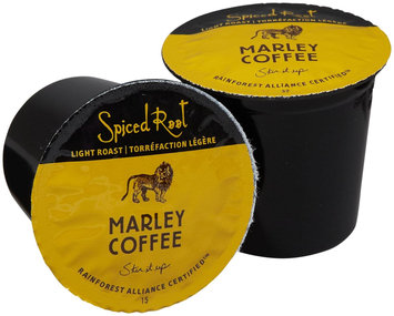 Marley Coffee Single Serve Realcup For Keurig K-Cup Brewers - Spiced Root Rum - 24 ct