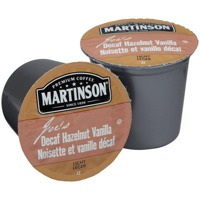 Martinson Coffee Single Serve Realcup For Keurig K-Cup Brewers - Decaf Hazelnut Vanilla - 24 ct
