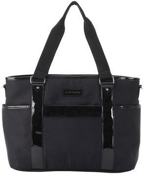 Perry Mackin stellakim Lauren Diaper Bag in Black
