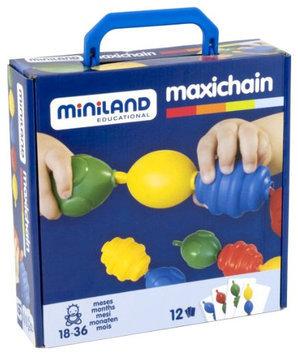 Miniland Educational Corp 27363 Interlocking Pieces 16 pcs