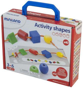 Miniland Educational 31783 Activity Shapes