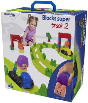 Miniland Educational 32345 Track Set No. 2 Blocks Super