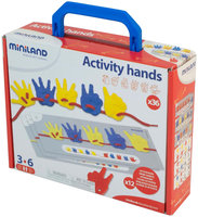 Miniland Educational 95280 Activity Hands