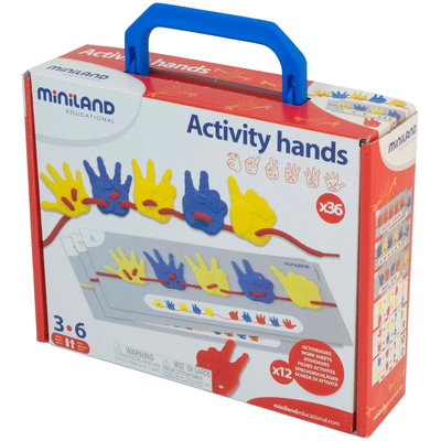 Miniland Educational 95280 Activity Hands