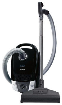Miele C2 Onyx Obsidian Black Compact Canister Vacuum