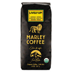 Marley Coffee 8-oz. Espresso Whole Bean Coffee, Lively Up!