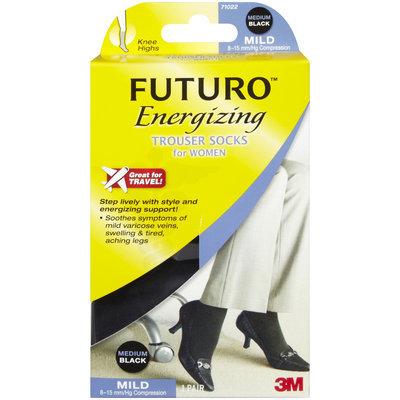 Futuro Energizing Women's Trouser Socks, Mild, Black