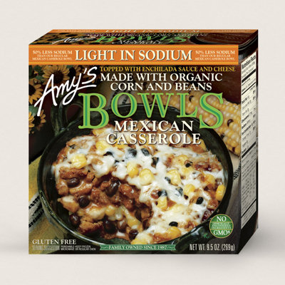 Amy's Kitchen Mexican Casserole Bowl, Light In Sodium