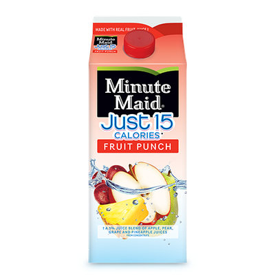Minute Maid® Just 15 Calories Fruit Punch