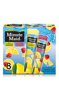 Minute Maid® Soft Frozen Lemonade – Lemon Tubes