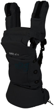 Moby Wrap Aria Baby Carrier (Black)