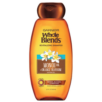 Garnier Whole Blends Monoi Oil & Orange Blossom Extracts Revitalizing Shampoo