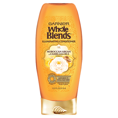 Garnier Whole Blends Moroccan Argan and Camellia Oils Extracts Illuminating Conditioner