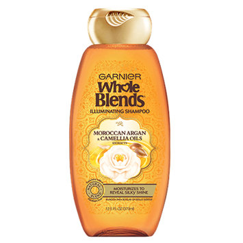 Garnier Whole Blends Moroccan Argan & Camellia Oils Extracts Illuminating Shampoo
