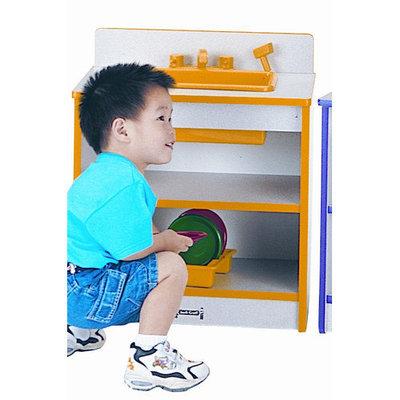 Jonti-Craft 0408JCWW180 Toddler Sink - Black