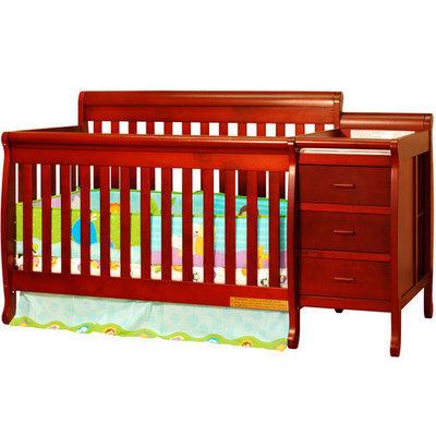 Afg International Kimberly 3-in-1 Convertible Crib Finish: White