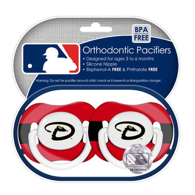 Baby Fanatic Philadelphia Phillies Pacifier 2-Pack