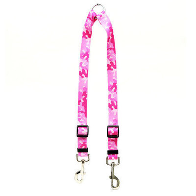 Yellow Dog Design CPK110 Camo Pink Coupler Lead - Large