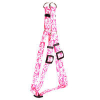 Yellow Dog Design SI-IFB103L Island Floral Blue Step-In Harness - Large