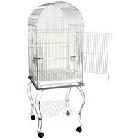 Yml Dome Top Parrot Cage with Stand Color: Antique Copper