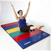 Flaghouse Deluxe Rainbow Mat Size: 10