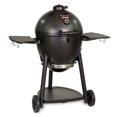 Char-Griller Grill. Akorn Kamado Kooker Charcoal Grill in Brown