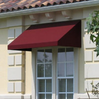 Awntech Beauty-Mark New Yorker 8 ft. Low Eaves Window/Door Awning