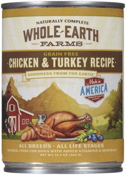 Merrick Whole Earth Farms Chicken & Turkey - 12 x 12.7 oz
