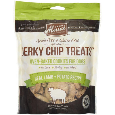 Merrick Jerky Chip Treats - Real Lamb & Potato - 10oz