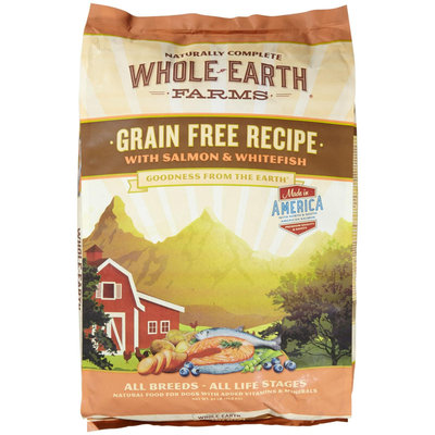 Merrick Whole Earth Farms Grain-Free Recipe - Salmon & Whitefish