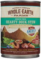 Merrick Whole Earth Farms Grain-Free - Hearty Duck Stew