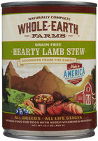 Merrick Whole Earth Farms Grain-Free - Hearty Lamb Stew