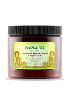 Just Natural Products Turbinado Brown Sugar Body Scrub