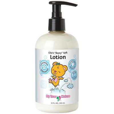 My True Nature Clio's Beary Soft Lotion - Fragrance Free - 12 oz