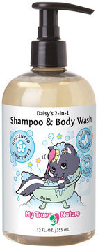 My True Nature Daisy's 2-in-1 Shampoo/Body Wash - Super Sensitive Unscented - 12oz