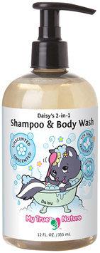 My True Nature Daisy's 2-in-1 Shampoo/Body Wash - Super Sensitive Unscented - 12oz