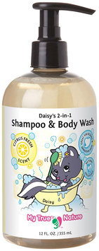 My True Nature Daisy's 2-in-1 Shampoo/Body Wash- Citrus- 12 oz
