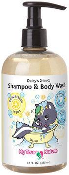 My True Nature Daisy's 2-in-1 Shampoo/Body Wash- Citrus- 12 oz