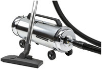 Metrovac - Metro Professionals Canister Vacuum - Stainless-steel