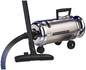 Metrovac - Roll-a-round Canister Vacuum - Black