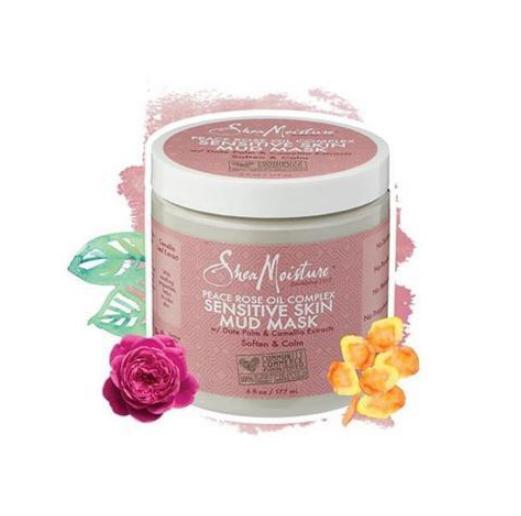 SheaMoisture Peace Rose Oil Complex Sensitive Skin Mud Mask