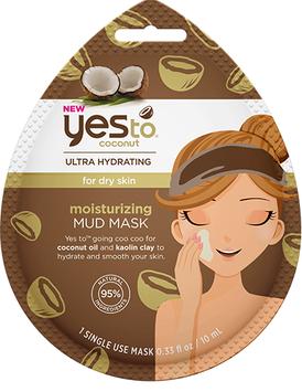 Yes To Coconut Moisturizing Mud Mask Single Use