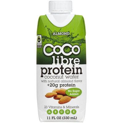 CoCo Libre Almond Coconut Water + Protein, 11 oz, 12 ct