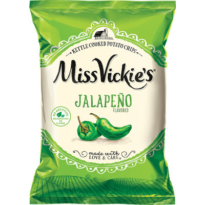 Miss Vickie's® Jalapeno Kettle Cooked Potato Chips